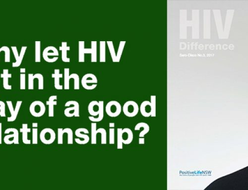 Why let HIV get in the way of a good relationship?