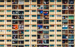 High-rise, high-density housing