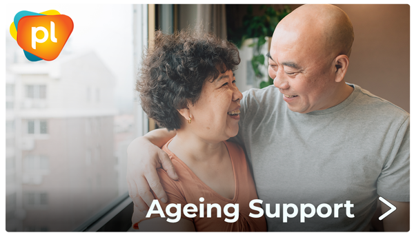 Ageing support for older people with HIV