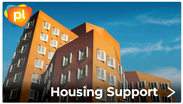 housing support for people living with HIV