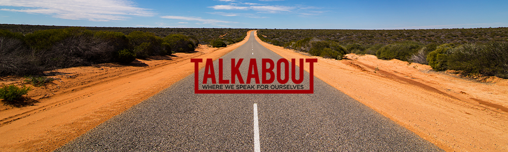 talkabout banner